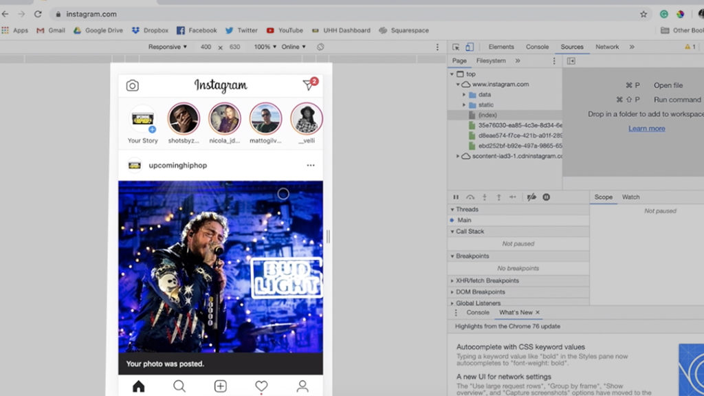 How to Post on Instagram from Desktop and Laptop - Upcoming
